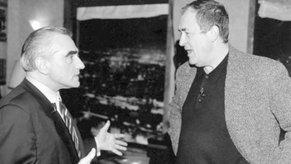 Il regista con Martin Scorsese (anni '90) ©
