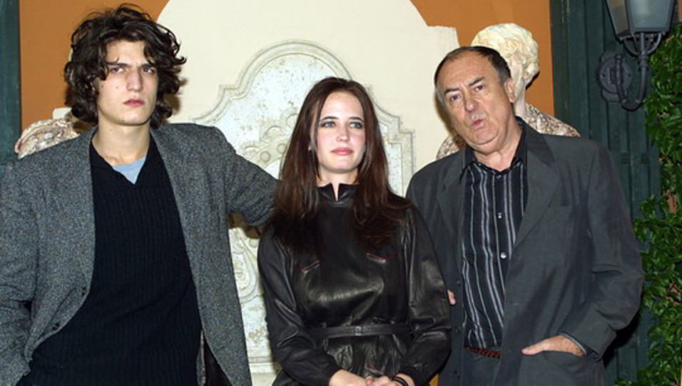 Bertolucci con Eva Green e Louis Garrel alla presentazione di 'The Dreamers' (2003) ©