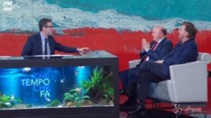 """Massimo Boldi e il """"trucco del limone"""" suggerito da Paolo Villaggio"""