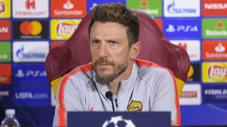 """Champions, Roma contro Real per scacciare la crisi. Di Francesco: """"Sento la fiducia del club"""""""