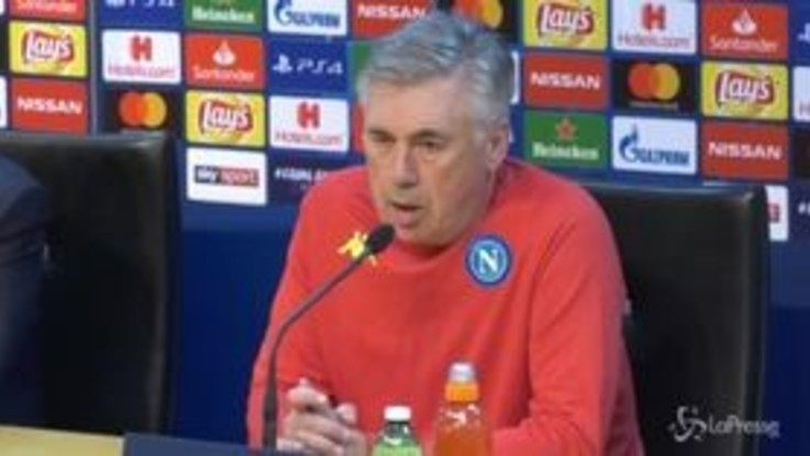 """Champions, Ancelotti: """"Se non passiamo siamo dei co...ni"""""""