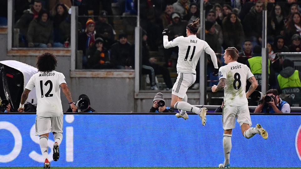 E proprio Bale porta in vantaggio il Real a inizio ripresa ©