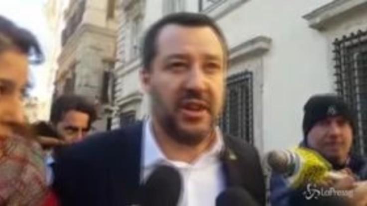 """Monte San Savino, Salvini: """"Se uno teme di essere aggredito si difende"""""""