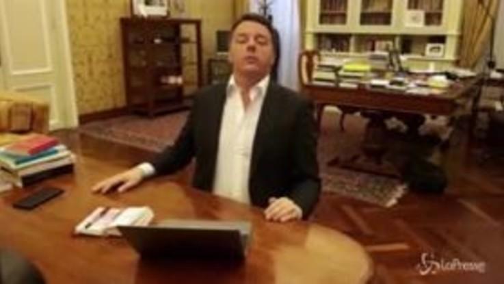 """Matteo Renzi: """"Chiediamo scusa a Berlusconi, in confronto a Salvini era un pischello"""""""
