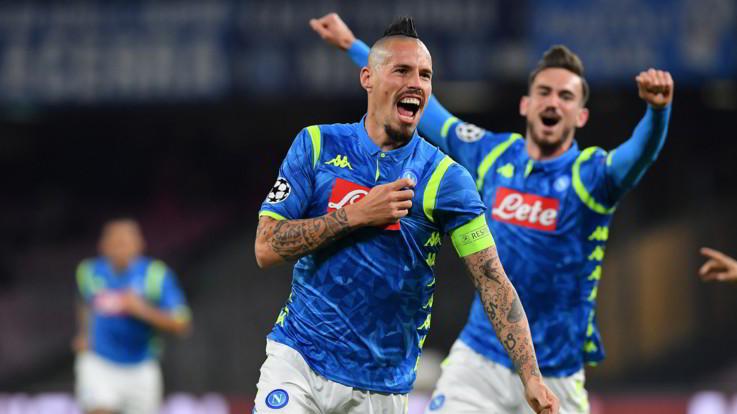 Champions League, Napoli-Stella Rossa 3-1 | Il Fotoracconto