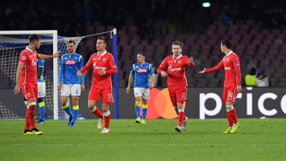 El Fardou Ben esulta con i compagni dopo il gol ©