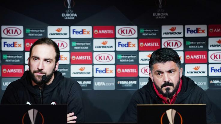 """Milan, tutte le verità di Higuain: """"Qui sto bene, testa al Dudelange"""""""