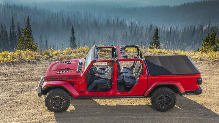 Jeep Gladiator 2020, l'esordio a Los Angeles