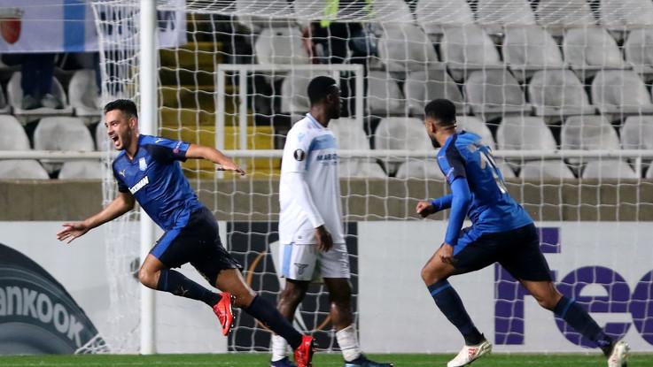 Europa League, Apollon-Lazio 2-0 | Il Fotoracconto