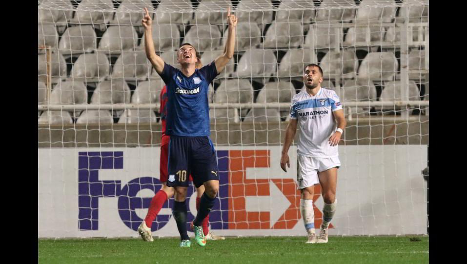 Markovic esulta dopo il gol del 2-0 ©