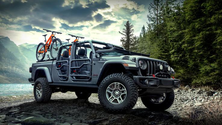 Mopar, oltre 200 accessori per la Jeep Gladiator
