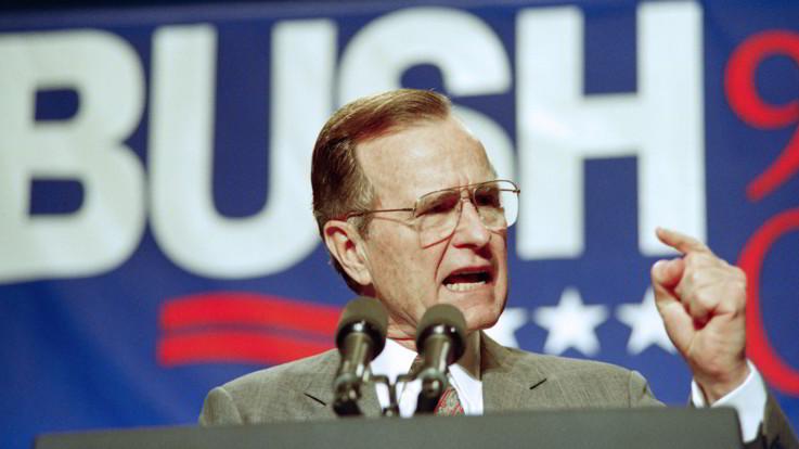 Dalla fine della Guerra Fredda a Desert Storm: il ritratto di George Bush senior