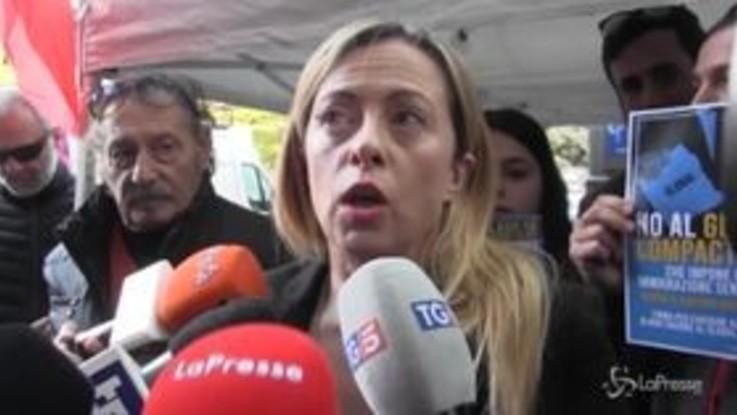 """Meloni: """"Centrodestra compatto alle prossime Regionali"""""""