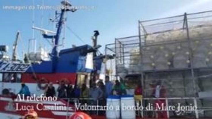 """Nuestra Madre Loreto, Mediterranea: """"È una situazione che può diventare drammatica"""""""