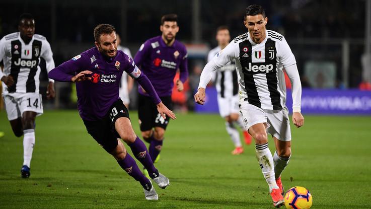 Juve e Ronaldo implacabili: 3-0 in casa della Fiorentina