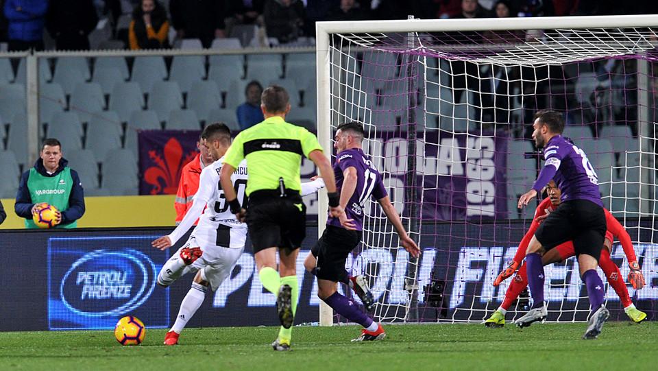 Rodrigo Bentancur (Juventus) segna il gol dello 0-1 ©