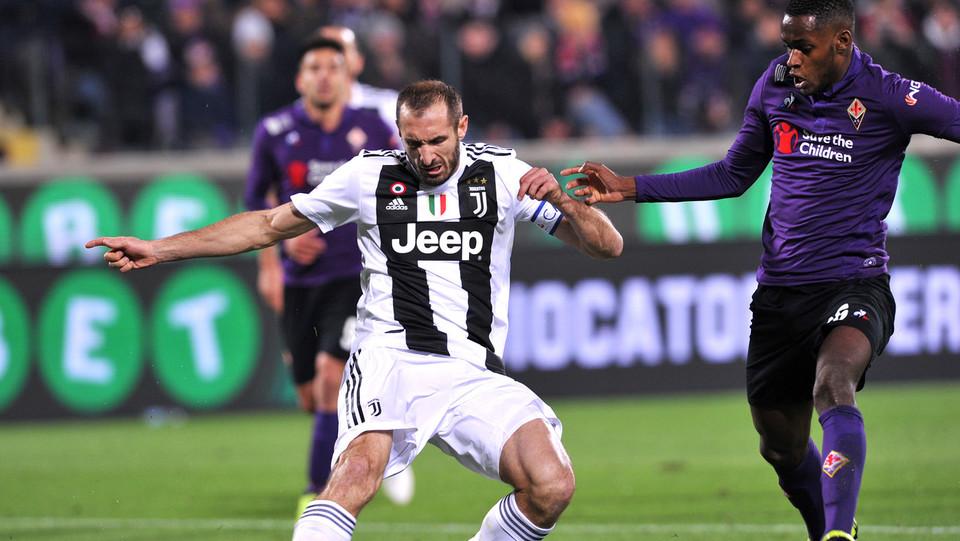 Chiellini firma il raddoppio della Juventus ©
