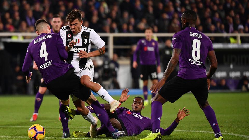 Azione di Dybala (Juventus) ©