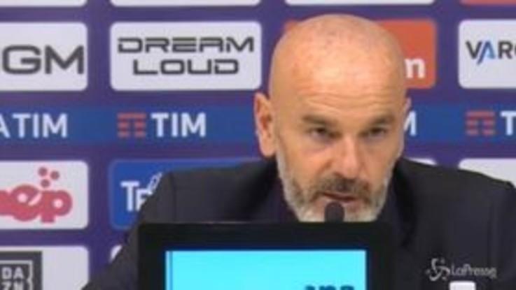 """Fiorentina, Pioli: """"Non si può dare un rigore del genere"""""""
