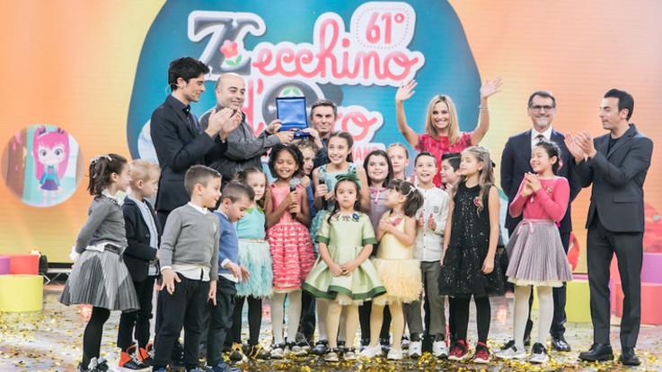 'La rosa e il bambino' vince il 61° Zecchino d'Oro