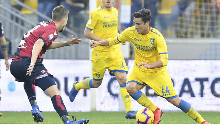 Serie A, Farias replica a Cassata: Frosinone e Cagliari 1-1