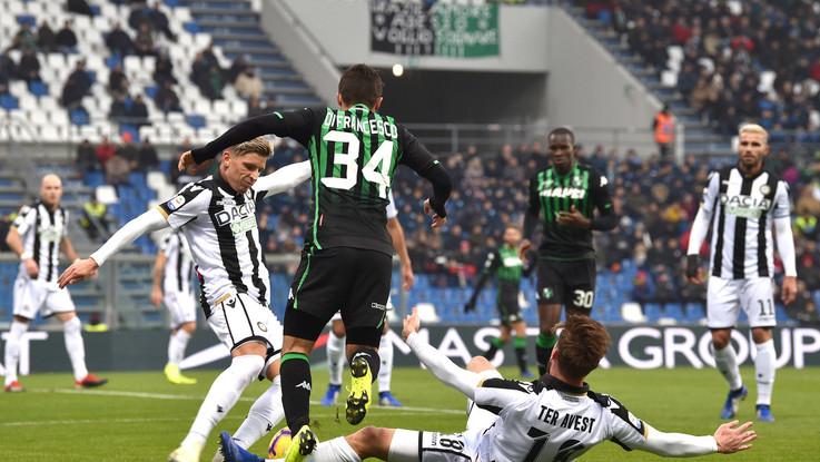 Serie A, il Sassuolo non sa più vincere: solo 0-0 con l'Udinese
