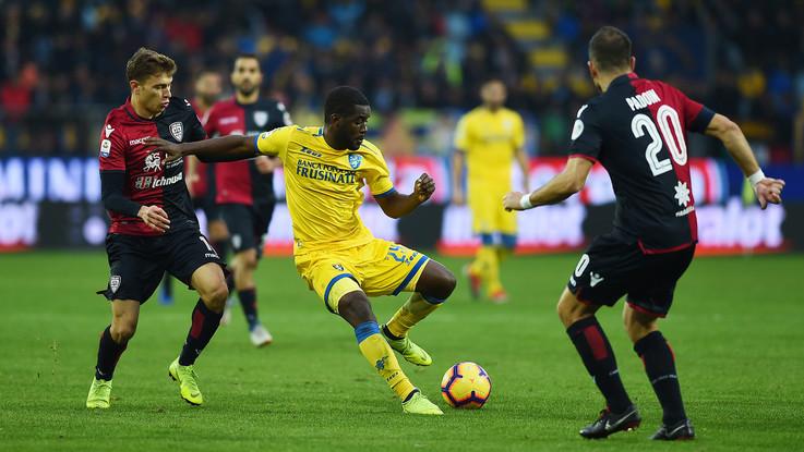 Serie A, Frosinone-Cagliari 1-1 | Il Fotoracconto