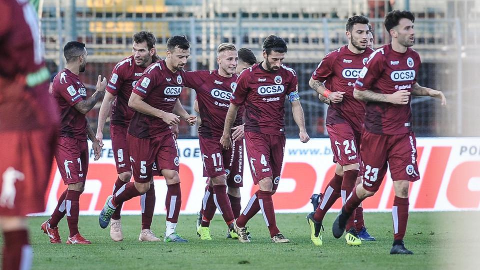 Cittadella-Salernitana 3-1. Strizzolo esulta dopo il gol che chiude i conti ©