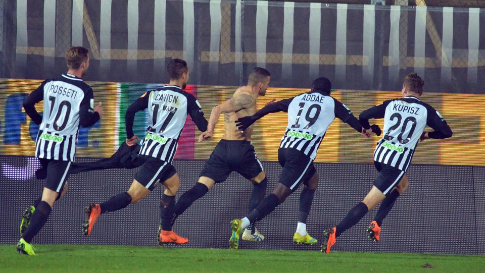 Ascoli-Spezia 3-1. Padella esulta ©