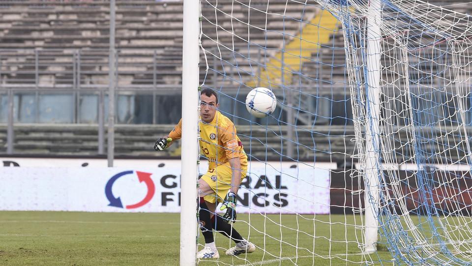 Brescia-Livorno 2-0. Il primo dei due gol di Torregrossa ©