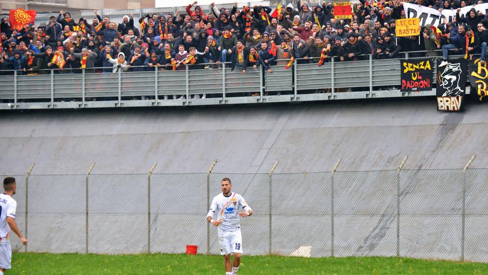 Carpi-Lecce 0-1. La Mantia porta in vantaggio i pugliesi ©
