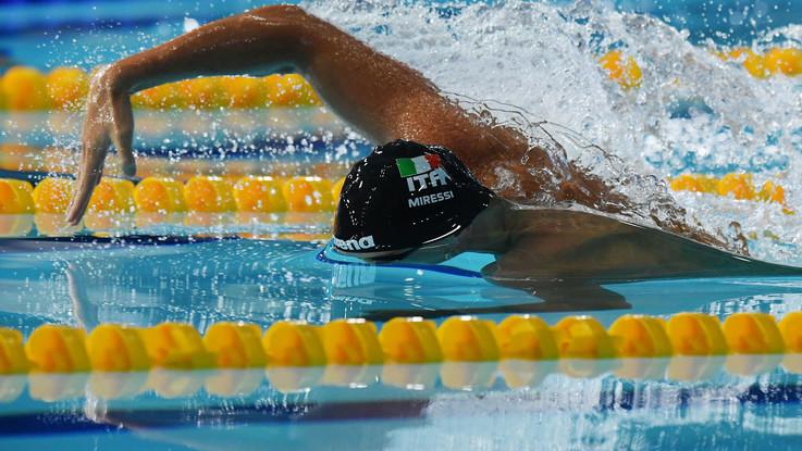 Gli eventi sportivi 2018 Nuoto europei di Glasgow, Italia