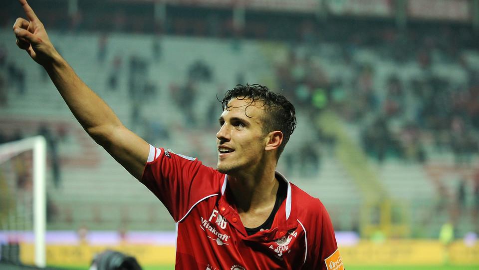 Perugia-Pescara 2-1. Il vantaggio di Verre ©