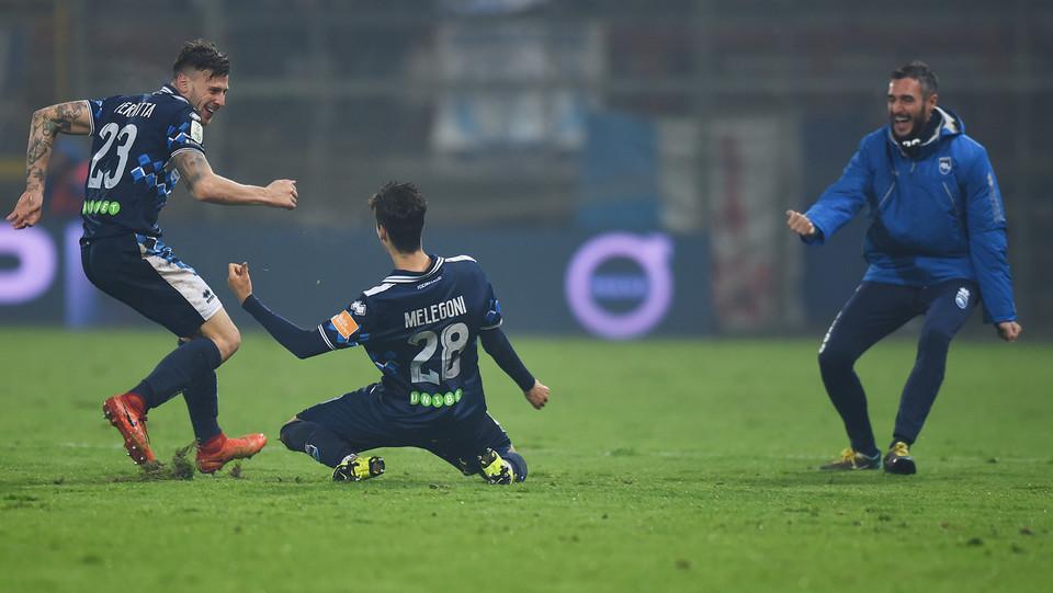 Perugia-Pescara 2-1. Melengoni pareggia i conti ©