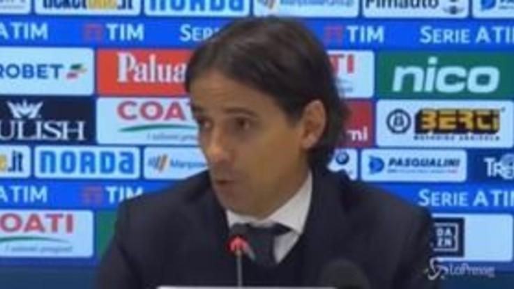 """Chievo-Lazio 1-1, Inzaghi: """"Non sappiamo più vincere"""""""