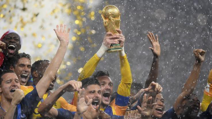 I dieci eventi sportivi del 2018 Francia campione