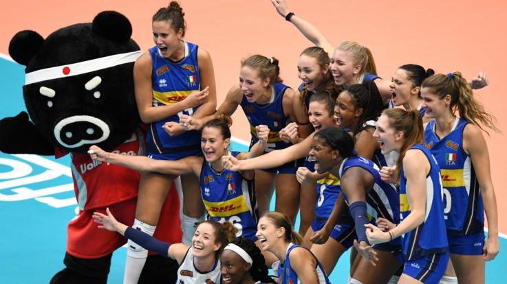 I 10 eventi sportivi del 2018 Italvolley femminile seconda Mondiali Giappone