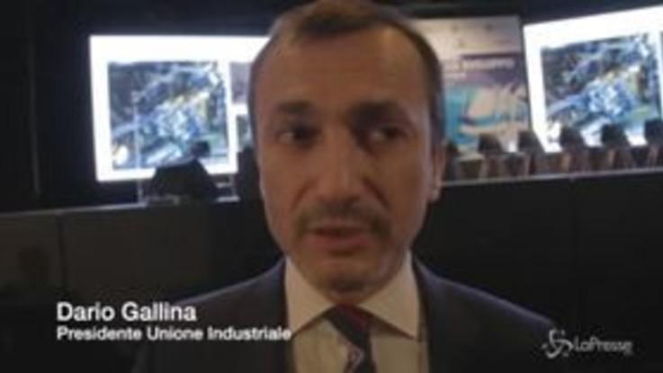 """Gallina (Industriali): """"Da Torino un messaggio nazionale: non fermate le grandi opere"""""""