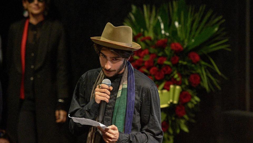 Lorenzo, il figlio di Ennio Fantastichini ©