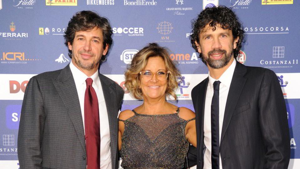 Damiano Tommasi, Manuela Ronchi e Demetrio Albertini ©