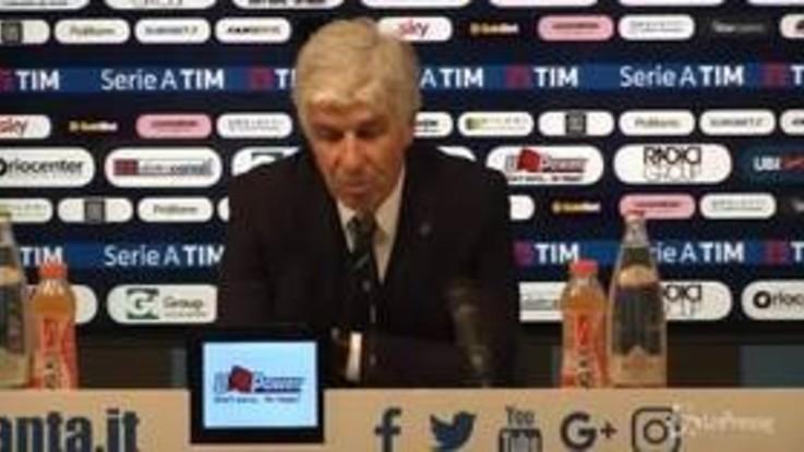 """Atalanta-Napoli 1-2, Gasperini: """"Ha vinto la squadra più forte ma abbiamo fatto una buona gara"""""""