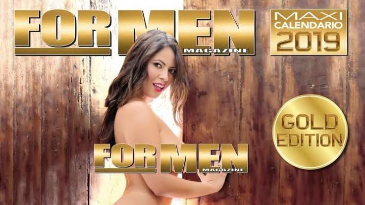 For Men compie 15 anni: a dicembre un maxi calendario sull'ex Playboy Fabiana Britto