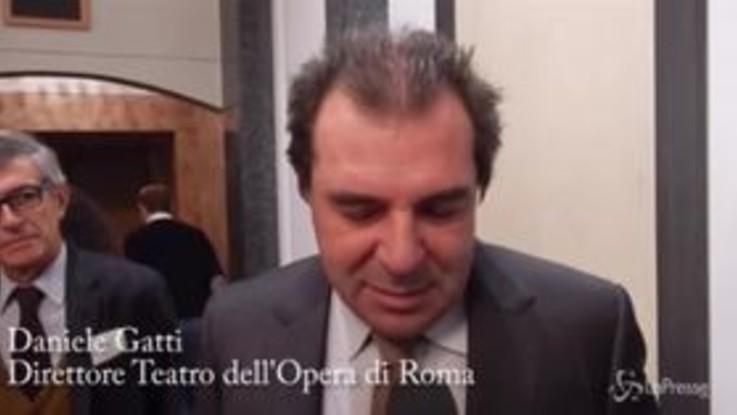 Roma, Daniele Gatti è il nuovo direttore del Teatro dell'Opera