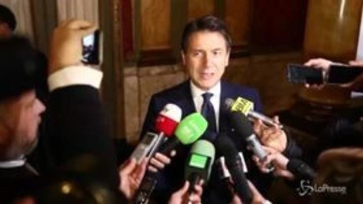 """Manovra, Conte: """"Negoziati con Ue in corso ma ora silenzio è d'oro"""""""