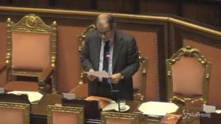 Manovra, Tria in commissione Bilancio non risponde alle opposizioni