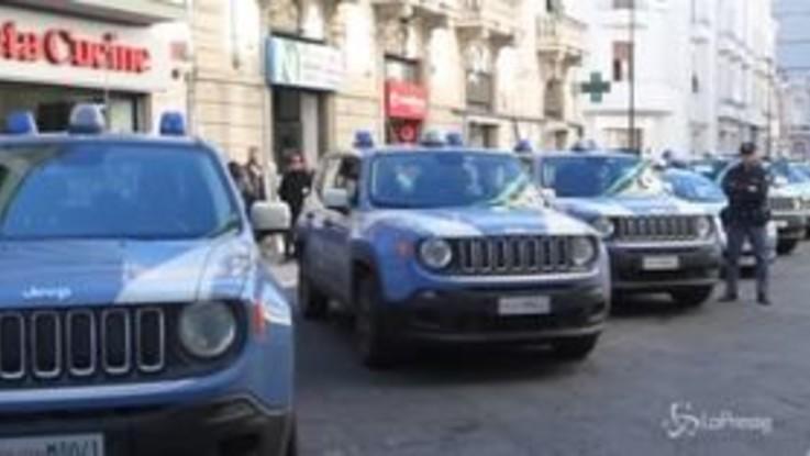 'Ndrangheta, gli arrestati escono dalla Questura a Reggio Calabria