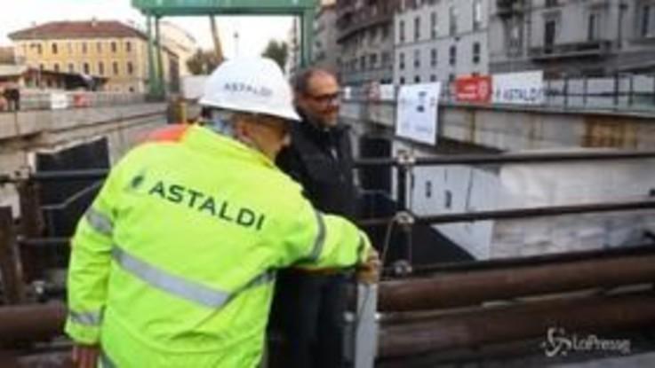 Milano, parte la talpa che scava la M4