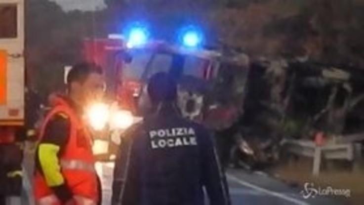 Rieti, le immagini dal luogo dell'esplosione