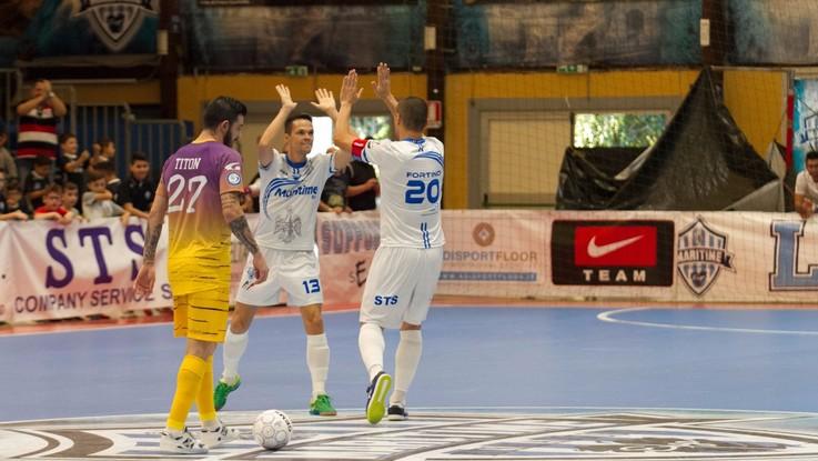 Calcio a 5, Serie A: Maritime-Pesaro: sfida per il primato su LaPresse