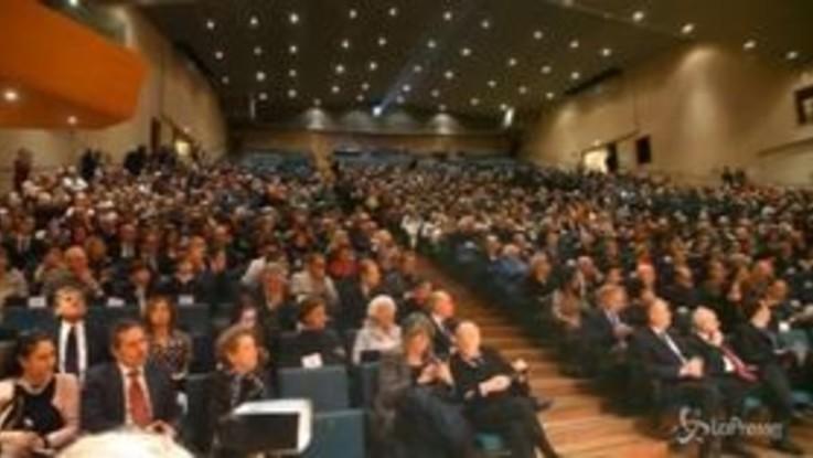 Milano, consegnati al teatro Dal Verme gli Ambrogini d'oro